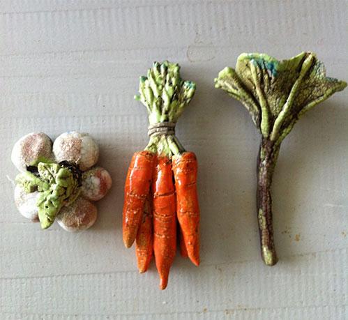 Moestuin oogst - Fijne chamotte - Kittie Markus